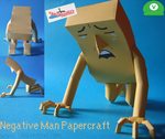 Negative Man Papercraft by Vincentmrl