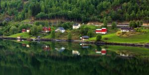 Reflections Skjolden06 by abelamario