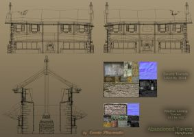 Tavern Wireframe by Everto-Phasmatis