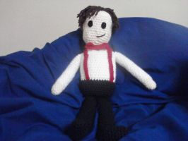 11th Doctor amigurumi by orijans