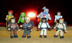 Minimates- The Real Ghostbusters by CyberDrone