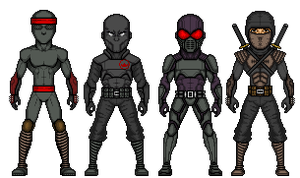 Foot Clan by UndefinedScott