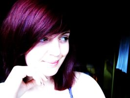 Purple hair by alicecorley