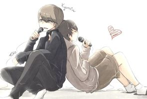 Kyumin: Afternoon by Fuko-chan