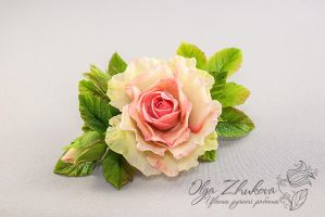 flowers from cold porcelain by polyflowers