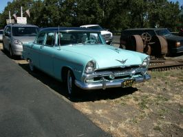 1955 Plymouth Belvedere 4 door by RoadTripDog