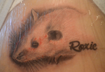 In memory of Roxie - my first tattoo by Angi-Shy
