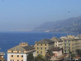 Genoa - Camogli by GreenRock96