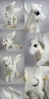 Silver Moon pegasus for Jean by Woosie
