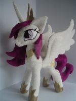 My little pony Young Celestia plush by valio99999