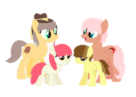 Apple Family cousins by RaindropLily