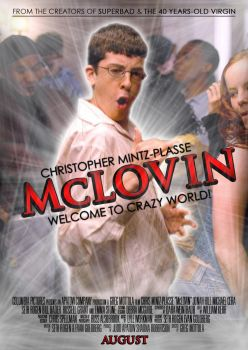 McLovin from Superbad Poster by Alecx8
