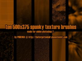 10 Spunky Texture Brush by Red-Eclipse