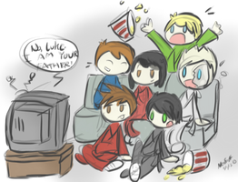 NinjaGo Movie Night by Neon-Season
