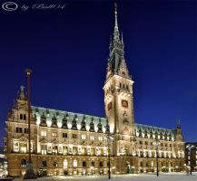 Rathaus in Hamburg by Bull04