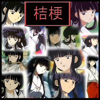 Inuyasha-Kikyo Collage by Strawberry-of-Love