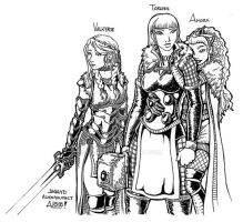 Jaggyds Norse Girls by AL-818
