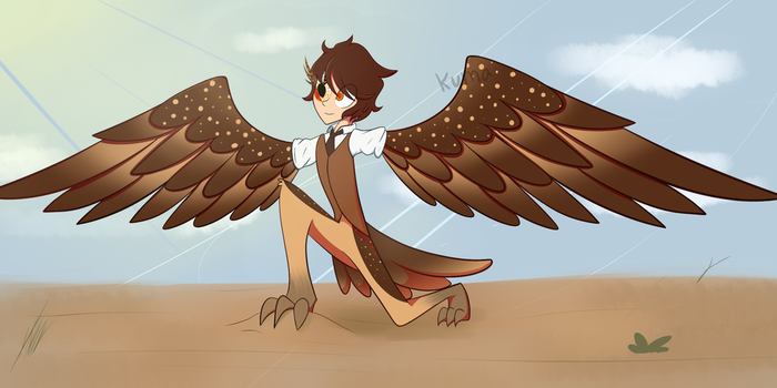Commission Charming Harpy by KumaExposed