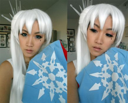 RWBY: WEISS Hair and Makeup Test by the-sushi-monster