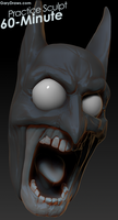 Batman - 60-Minute Practice Sculpt by GaryStorkamp