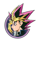 TRANSPARENT EDIT OF YAMI YUGI FROM DUEL ART by josephinedisney