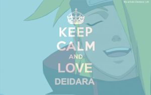 Keep Calm and... by My-Artistic-Deidara