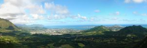 Valley in Honolulu by freakazold