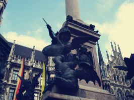 in marienplatz-munich by MaithaNeyadi