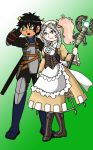 OnionRingz64's Commission: Jacob and Lissa by sandapolla