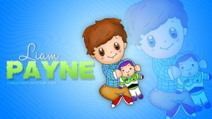 Wallpaper Liam Payne Cute by LauraClover