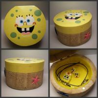 Spongebob Jewelry Box by stevoluvmunchkin