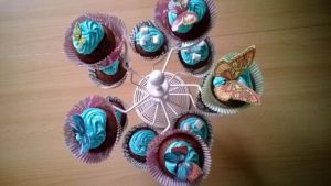 Butterfly Cupcakes by KellyGreeny