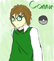 Connor the Pokemon Trainer by Dreamaniacal