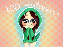 Thanks for 100 watchers! by Nesiix3