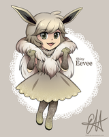 [Raffle prize] Shiny Eevee for Luxencat by Shi-Yin