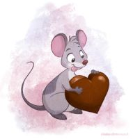 Valentine Mouse by autogatos