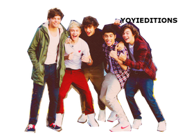 PNG De One Direction by YoyitaEditions