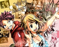 We're beautiful like diamonds in the sky [NaLu] by HinamoriMomo21