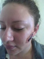 Geatin Scab Makeup 3 by Malonluvr