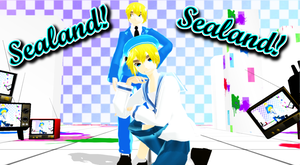 [MMD APH NC] Older Sealand! [DL] by FBandCC