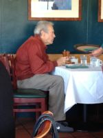 President Obama and Clint Eastwood dining together by Partywave