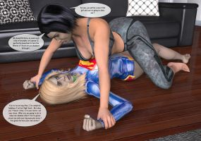 Supergirl It's for your own good! 17 by NightwingDomination