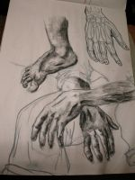 Hand and Feet by DrummerGirl375