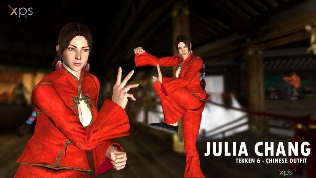 Julia Chang - Chinese outfit - DOWNLOAD by Changinformatica
