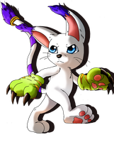Gatomon by Midnightflaze