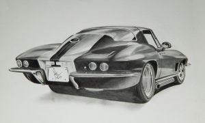 Corvette by resistanceispointles