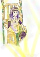 Emerald Gold Chair by ChibiAvvia