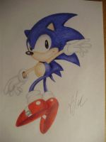 Classic Sonic by SonicBornAgain
