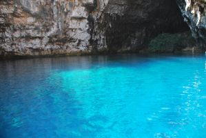 melissani lake by petalouda1980