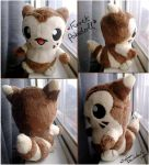 Furret Pokedoll by xBrittneyJane